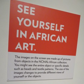 see yourself in african art
